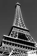 Ledaphotography.com Photo Framed Prints - Eiffel Tower Vegas Style Framed Print by Leslie Leda