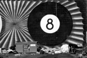 Lettuce Photo Originals - Eight Ball Dump by Paul W Sharpe Aka Wizard of Wonders