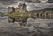 Scotland Photo Posters - Eilean Donan Castle 3 Poster by Wade Aiken
