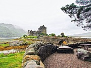 Robert Plant Print Photo Prints - Eilean Donan Castle Dornie Print by Patrick MacRitchie