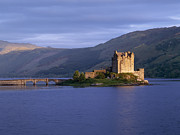 Old World Europe Posters - Eilean Donan Castle Poster by Jeremy Woodhouse