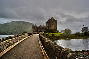 Skye Digital Art Posters - Eilean Donan Castle Poster by Mike Matejewicz