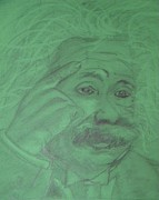 Einstein Drawings - Einstein by Manuela Constantin