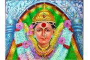 Ekvira Devi Print by Kalpana Talpade Ranadive