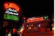 Photographers Fayette Prints - El Azteca Restaurant Print by Corky Willis Atlanta Photography