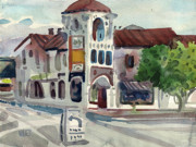Carlos Prints - El Camino Real in San Carlos Print by Donald Maier