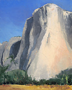 El Capitan Painting Prints - El Capitan Print by Jennifer Kane