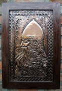 Metal Reliefs - El Cid Hero in Copper by Cacaio Tavares