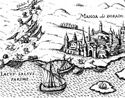 Imaginary City Prints - El Dorado, 1599 Print by Granger