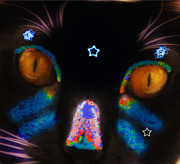Kitty Digital Art - El Gato by Bill Cannon