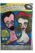Mechanics Pastels Originals - El Greco Loves Goya Milkmaid Of Bordeaux by Francesco Martin
