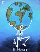 El Mundo Print by Sonia Flores Ruiz