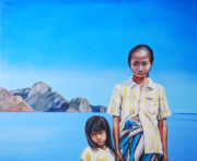 Southeast Asia Paintings - El Nido by Jonathan Benitez