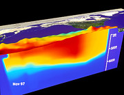 Noaa Prints - El Nino Print by NASA / Science Source