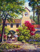 Pinto Horse Paintings - El Potro by Vickie Fears