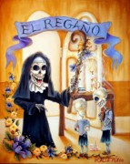 Punishment Prints - El Regano Print by Heather Calderon