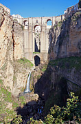 Serrania Prints - El Tajo gorge Print by Rod Jones