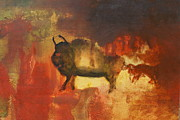 Steer Paintings - El Torro by Geegee W