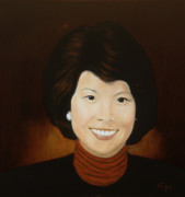 Republican Paintings - Elaine Chao by Bruce Ben Pope