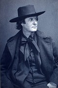 Hubbard Framed Prints - Elbert Hubbard 1856-1915, American Framed Print by Everett