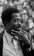 Hand On Chin Photo Framed Prints - Eldridge Cleaver 1935-1998, Minister Framed Print by Everett