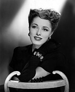 Bracelet Framed Prints - Eleanor Parker, 1945 Framed Print by Everett