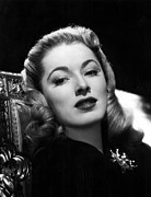 Brooch Prints - Eleanor Parker, 1947 Print by Everett