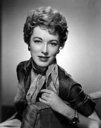 Bracelet Photos - Eleanor Parker, 1955 by Everett