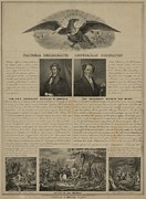 Lithographs Photos - Election Of 1840. Political Broadside by Everett