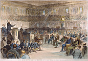 Electoral Commission, 1877 Print by Granger