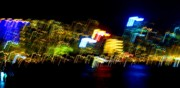 Hong Kong Prints - Electri City Print by Roberto Alamino