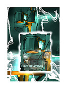 Transformers Posters - Electric Avenue Poster by Bob Salo