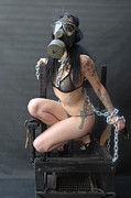 Femme Fatale Photos - Electric Chair - Bound n Chained by Liezel Rubin