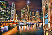 Magnificent Mile Art - Electric City by Joel Olives