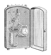 Device Prints - Electric Counter, 19th Century Print by
