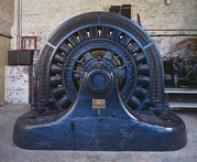 Dynamos Metal Prints - Electric Generator In The Folsom Metal Print by Everett