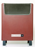 Old Heater Photo Posters - Electric Heater Poster by Victor De Schwanberg