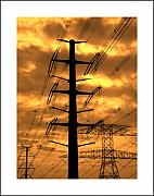 Electric Photo Originals - Electric Lines - 1 by Hussein Kefel