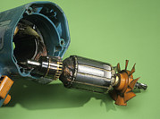 Workings Art - Electric Motor by Andrew Lambert Photography