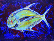 Amazing Sunset Paintings - Electric Pompano by Jeremy Smith