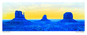 Monument Digital Art Prints - Electric Southwest Print by Mike McGlothlen