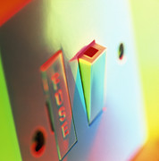 Electric Switch Print by Tek Image