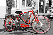 Small Towns Photo Metal Prints - Electric Vehicle . Peddle Power . Infinite Miles To The Gallon . 7D12730 Metal Print by Wingsdomain Art and Photography