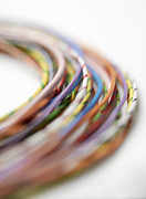 Electrical Wiring Prints - Electrical Wires Print by Tek Image