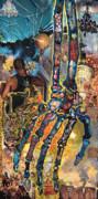 Electricity Hand La Mano Poderosa Print by Emily McLaughlin