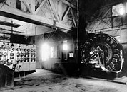 Tesla Photos - Electricty. Westinghouse Ac Generator by Everett