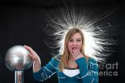 Ted Kinsman - Electrostatic Generator