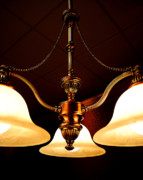 Night Lamp Prints - Elegant charm Print by Robert Harmon