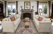 Old Rug Framed Prints - Elegant Living Room Framed Print by Andersen Ross