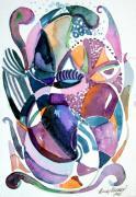 Elegant Lunacy Print by Mindy Newman